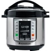Wonderchef Nutri-Pot Electric Rice Cooker(6 L, Black & Silver)