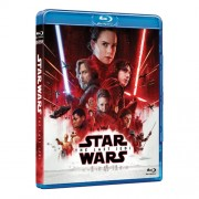 Star Wars:The Last Jedi:Daisy Ridley, John Boyega, Mark Hamill - Razboiul stelelor:Ultimii Jedi (Blu-Ray)