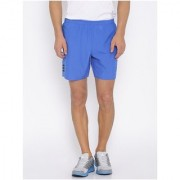 Adidas Blue Polyester Running Shorts