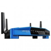 Рутер Linksys WRT3200ACM, 3200Mbps, 2.4GHz(600 Mbps)/5GHz(2600 Mbps), Wireless AC, 4x LAN 1000, 1x WAN 1000, 1x USB 3.0, 1x USB 2.0/eSATA combo port, 4x външни антени, двуядрен процесор 1.8GHz, 512MB RAM, 256MB Flash памет