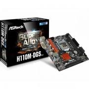 Matična ploča Asrock Intel 1151 Socket mATX MB ASR-H110M-DGS-R3.0