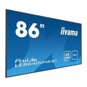 IIYAMA 86 3840 X 2160, 4K UHD IPS PANEL