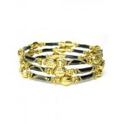 Fashionize Armbanden goud/zwart