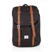 Herschel Retreat Mid-Volume Backpack #10329 mid grey crosshatch