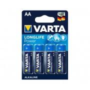 Varta 4906 - 4 buc baterii alcaline LONGLIFE AA 1,5V
