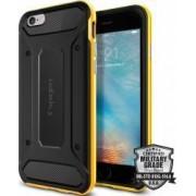 Skin Spigen Neo Hybrid Carbon iPhone 6 6S Galben-Negru