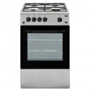 Beko Css42014fs Cucina a Libera Installazione, 4 Fuochi a Gas, Forno Elettrico, B, 50x50cm, Inox
