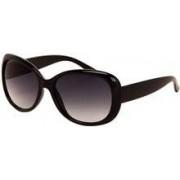 AZ-EYEWEAR Polariserende butterfly dames zonnebril zwart