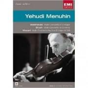 Yehudi Menuhin - Beethoven: Violin Concerto; Bruch: Violin Concerto No. 1; Mozart: Violin Concerto No. 3 (0724349284593) (1 DVD)