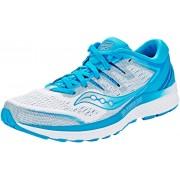 saucony Guide ISO 2 Löparskor Dam blå/vit US 8 EU 39 2019 Löparskor för asfalt