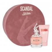 Jean Paul Gaultier Scandal 80Ml Edp 80 Ml + Body Lotion 75 Ml Per Donna(Eau De Parfum)