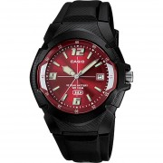 Reloj CASIO MW-600F-4AVCF 10 Year Battery Collection Análogo Con Calendario-Negro