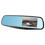 Camera auto DVR tip oglinda, full HD, USB, dual cam