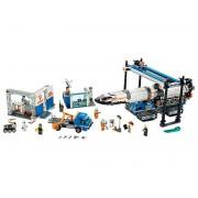 Lego Ensamblaje y Transporte del Cohete