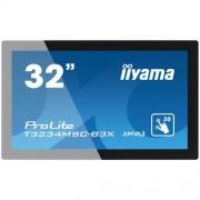 "Monitor touchscreen iiyama ProLite T3234MSC, 31,5"", negru, AMVA3, open-frame"
