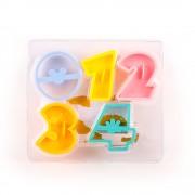 Magia dulciurilor Nr. 6 - Forma de stantat cu cifre de la 0 la 4