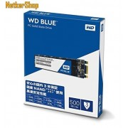Western Digital WDS500G2B0B 500GB Blue 3D SATA3 M.2 2280 SSD Merevlemez (3 év garancia)