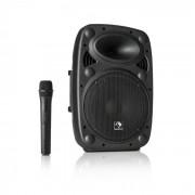 """Auna Streetstar 10, mobil PA rendszer, 10"""" (25.5 cm) woofer, UHF mikrofon, max. 400 W (Sky2-199.508)"""
