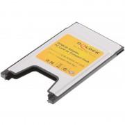 Laptop Geheugenkaartlezers Delock PCMCIA Geheugenkaartlezer voor CompactFlash