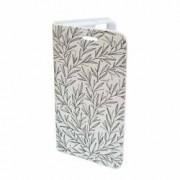 Husa Flip Cover Book Case Design 6 Alb Samsung Galaxy S7 Edge