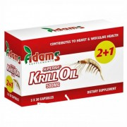 Pachet (2+1gratuit) Krill Oil 500mg Superba 30 capsule