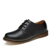 Garnalen huid Martin Boots casual schoenen voor mannen en vrouwen grootte: 40 (zwart)