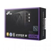 Захранване Fortron Hyper M 600, 600W, 85+, Active PFC, 120мм вентилатор