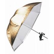 Falcon Eyes Umbrella URK-48TGS Transparent/Gold/Silver 122 cm