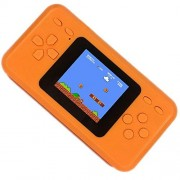 Qingshe Handheld Game Console for Kids,Electronics Toys Portable Video Player,2.5 LCD 8Bit 98 in 1 Classic Retro Games Arcade Gaming System,Great Loved by Children Age 4-16 -Orange