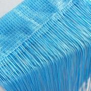 Perdea franjurata ( ate ) dimensiuni 3 x 3 metri - Bleu