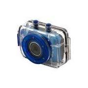 Filmadora Digital Esportiva HD Vivitar 5MP Azul