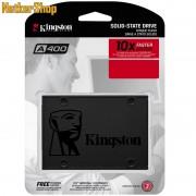 """Kingston SA400S37/480G 480GB A400 SATA3 2.5"""" SSD Merevlemez (3 év garancia)"""