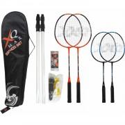 XQ Max Leuke badminton set voor 4 spelers (BSF400)