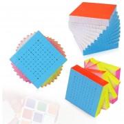 Zhisheng 10 X 10 X 10 Speed Brain Puzzle Magic Cube, Color Al Azar Entrega