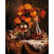 Schipper Картина по номерам Астры 40х50 см