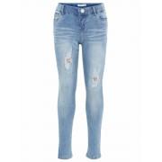 Name It! Meisjes Lange Broek - Maat 92 - Denim - Jeans