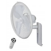 Casafan Wall Fan, Greyhound Diam. 45 Cm White, With Vertical And Horizontal Adjustable Remote.