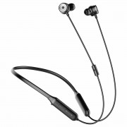 BASES SIMU S15 Active Noise Control Bluetooth Earphone Wireless Sport Earphone with Mic for Mobile Phone - Black