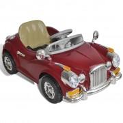 vidaXL Детска кола с акумулаторна батерия, червена
