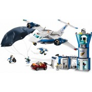 Lego Конструктор Lego City 60210 Police Воздушная полиция: авиабаза