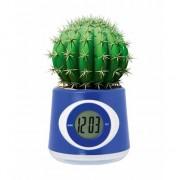 Geen Blauwe bloempot klok 11 cm - Action products