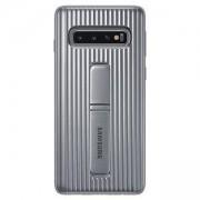 Калъф за Samsung Galaxy S10 (Protective Standing Cover), сребрист, EF-RG973CSEGWW