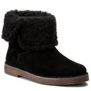 Magasított cipő CLARKS - Drafty Haze 261282314 Black Sde