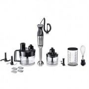Mixeur plongeant MaxoMixx métal pied inox 800 W et 6 accessoires MSM88190 Bosch