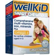 Vitabiotics Wellkid masticabil x 30 cpr