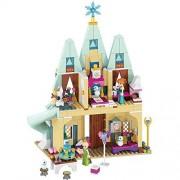 Vortex Toys Happy Princesses and Snowman Castle Building Blocks Set Castle Gift Toy 483Pcs