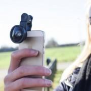 Kikkerland Groothoeklens Voor Smartphone - Kikkerland