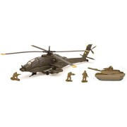 New Ray Apache AH-64 with Tank Set