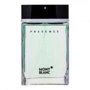 Montblanc Presence Eau de Toilette 75 ml für Männer
