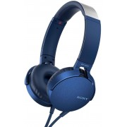 Sony Headset MDRXB550AP - Blå